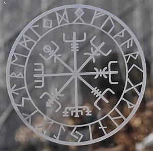 Compas De Vegvisir : viking protection runes vegvisir compass talisman etched ~ Melissatoandfro.com Idées de Décoration