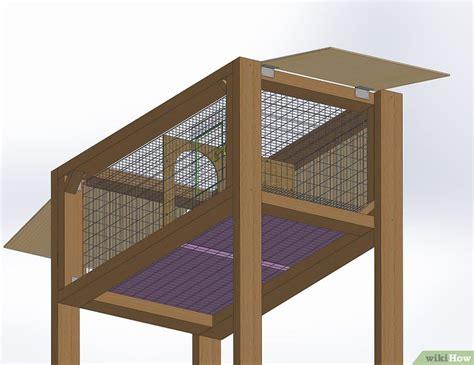 Come Costruire Una Gabbia Per Conigli Fai Da Te Come Costruire Una Conigliera 17 Passaggi Illustrato