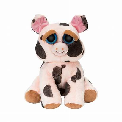 Feisty Pets Snort Plush Mort Pig Spotted