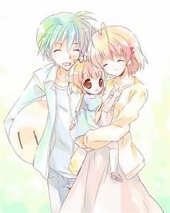 Tomoya, Nagisa and Ushio by Johann123456 on DeviantArt