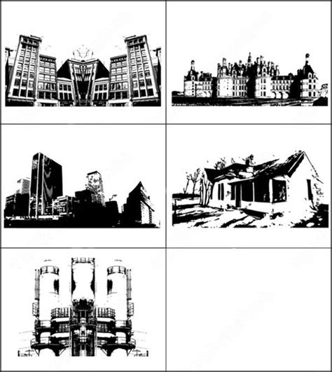 Sample File From Building Series Vector And Photoshop