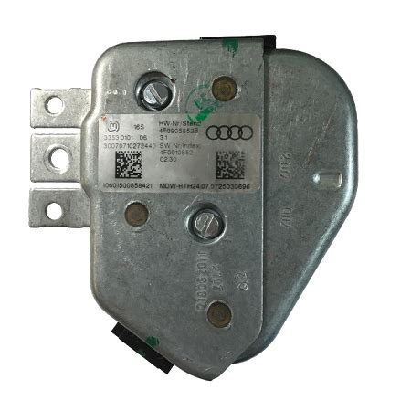 audi a6 q7 access start authorization j518 module with integrated steering lock immobilizer