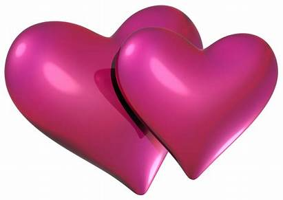 Hearts Heart Pink Valentine Clipart Double Clip