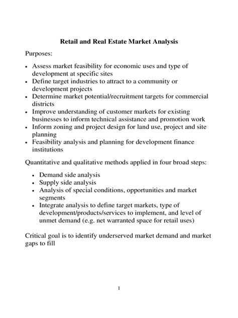 market analysis template   templates   word