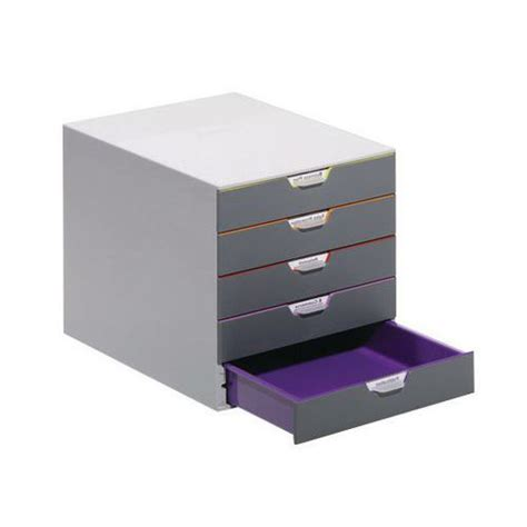 module de classement bureau module de classement varicolor 5 tiroirs manutan fr