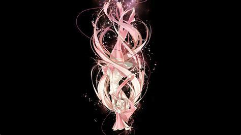 Hatsune Miku, tie, skirts, falling down, long hair, pink