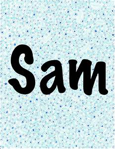 Sam's Name Gallery | Pearl Music