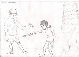 Gallery For > Greek Minotaur Percy Jackson