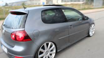 Tapis Golf 5 Gti by Vw Golf 5 Gti R32 Heck Auspuff Links 20zoll Audi Felgen Bi