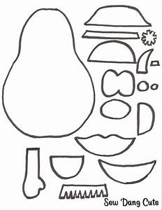 free coloring pages of mr potato head cut out With mr potato head felt template