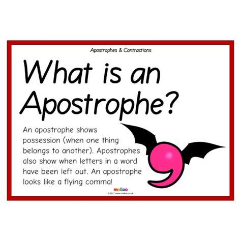 apostrophes and ks1 ks2