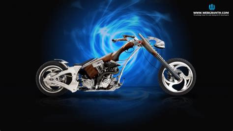 Download Chopper Bike Wallpaper Free