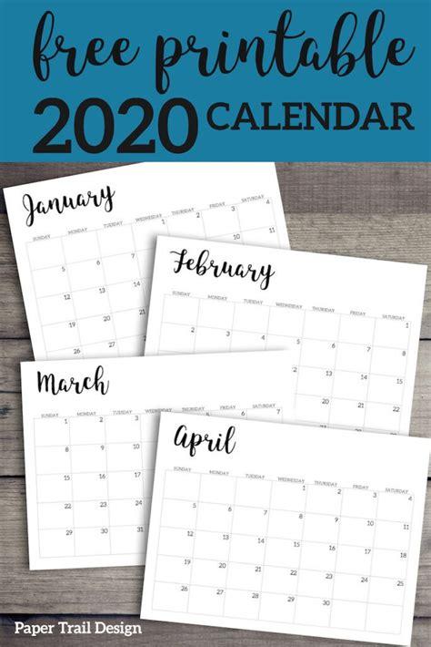 calendar printable template planners calendar design