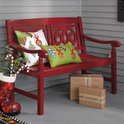 amalfi bench for front porch new house