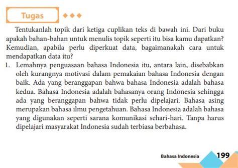 Untuk mendapatkan peluang usaha yang baik, wirausaha perlu melakukan analisis terlebih gambaran diatas yang merupakan keberhasilan pembangunan ekonomi indonesia berdasarkan urutan demikian ulasan tentang soal pkk kelas 11 +kunci jawaban 2020 semoga bermanfaat. Bahasa Indonesia Edisi 2016 Hal 149 Kelas 8   Revisi Id