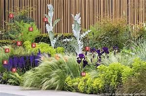 realiser un massif zero arrosage arrosage zero et massif With idee deco terrasse jardin 14 cresson plantation taille et entretien