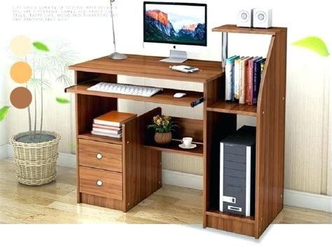 extraordinary computer desk plans cherry wood corner