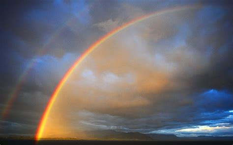 Landscapes Double Rainbow Wallpapers Hd Desktop And