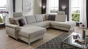 Grau Weißes Sofa : wohnlandschaft winston ecksofa sofa polsterm bel grau wei ~ Indierocktalk.com Haus und Dekorationen