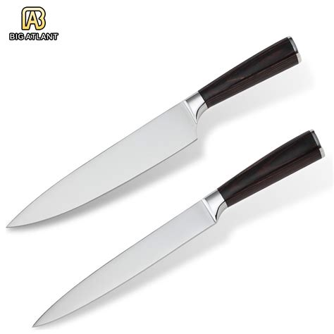 best home kitchen knives best kitchen knives 8 quot chef slicing knife home commonly used 2pcs set 7cr17stainless steel