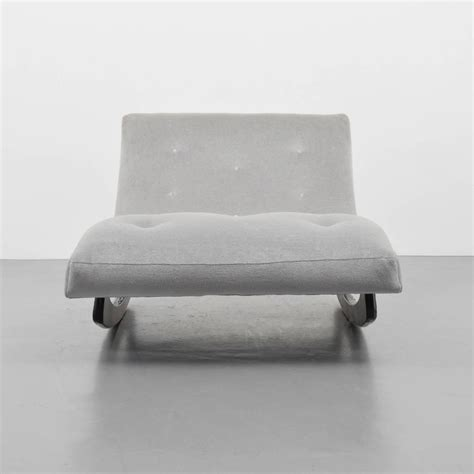 adrian pearsall brutalist rocking lounge chaise lounge