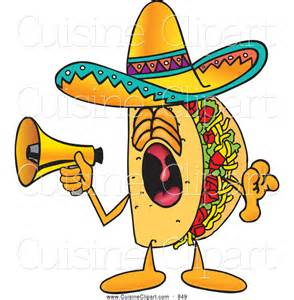Taco Cartoon Clip Art
