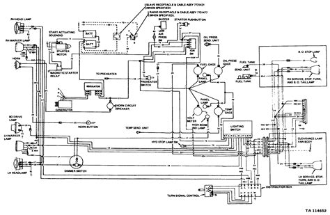Autocar Truck Wiring Diagram by M44 Series Wiring Diagrams S Tech Journal