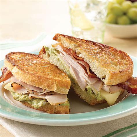 hot turkey breast sandwich recipe grilled california turkey bistro sandwich recipe land o