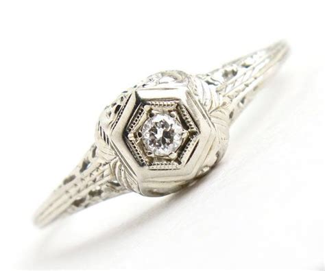 Antique 20k White Gold Diamond Ring  Art Deco 1920s. Natural Necklace. 1 Carat Diamond Eternity Band. Triangular Pendant. Name Plaque Necklace. Gold Indian Necklace. Air Beads. 22k Gold Necklace. Titanium Anklet