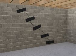 Basement Walls Bowing Inward by Basement Wall Reinforcement Carbonarmor And Armorlock