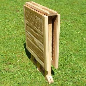 Tisch Klappbar Holz : klappbarer balkon tisch aus teak holz balkontisch klappbar teaktisch 120 x 60cm ebay ~ Orissabook.com Haus und Dekorationen
