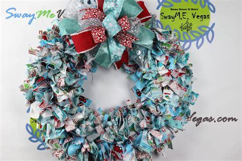 holiday fabric wreath home decor wreaths garland