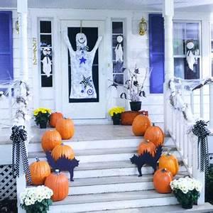 Halloween Deko Für Draussen : haus zu halloween dekorieren 27 gruselige ideen ~ Frokenaadalensverden.com Haus und Dekorationen