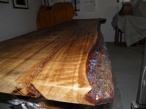 bureau en bois brute de ch 234 ne 10 couches de vernis
