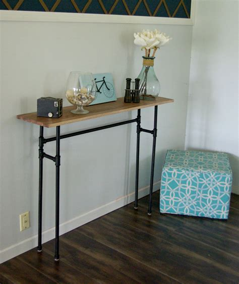 how to build a rustic table stealmag how to build a rustic table using galvanized pipes