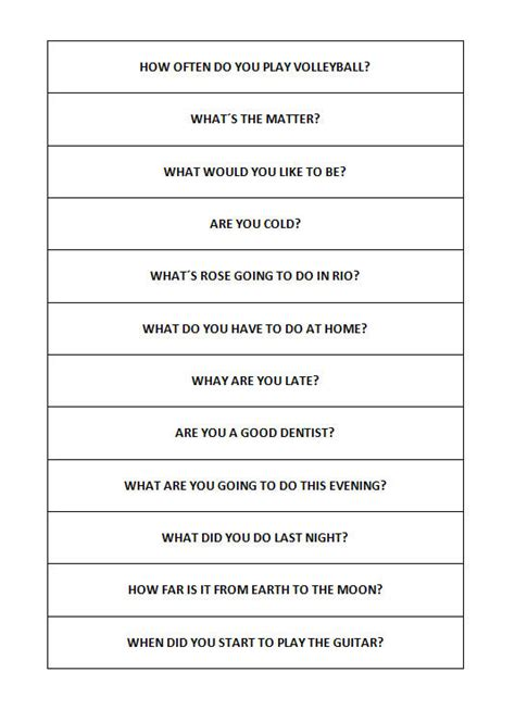 simple questions  answers matching worksheet