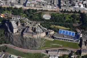 Edinburgh Castle Aerial View