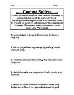 Commas In A Series, Complex Sentences And Sentences On Pinterest