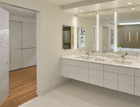 Modern Vanity Lighting Bathroom Contemporary With Double