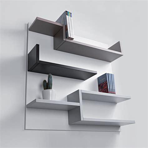 chambres à coucher étagère murale design blanc 100 x 100 cm myshelf