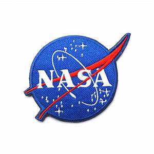 NASA Logo Patch Embroidered Space Sew on Iron on Patches