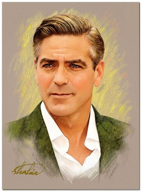 george clooney  shahin celebrities  stars