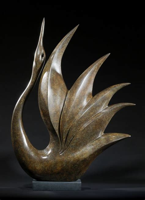 Abstract Shapes Sculpture by Bronze Abstract Contemporary Or Modern Outdoor Outside
