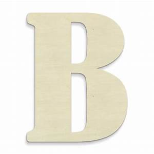 unfinishedwoodco 23 inch unfinished wood letter large With big wooden letter b