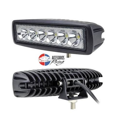 Small Led Light Bar by Faros Led Rectangulares 6 Led Accesorios Racing El Salvador