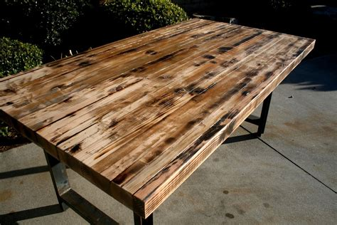 rustic butcher block table hand made rustic recycled butcher block dinning table by