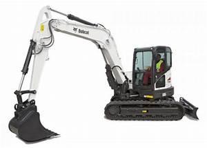 Bobcat E85 8.5 Ton Excavator – Coleman Plant Hire Ltd