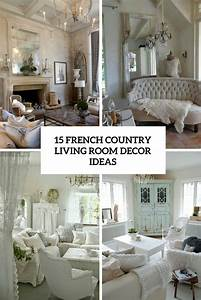 15 French Country Living Room Décor Ideas - Shelterness