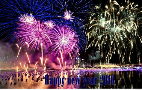 happy  year fireworks  wallpapers pictures