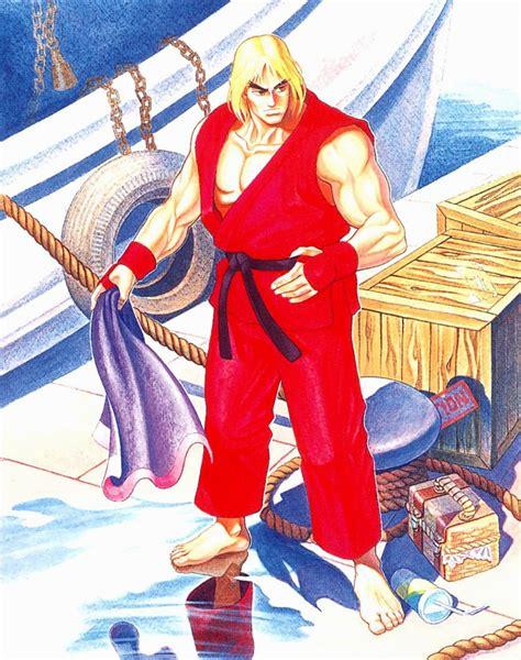Image Ken Stage Art The Street Fighter Wiki